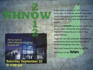 NH Night of Worship Poster