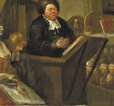 William Hogarth, The Sleeping Congregation