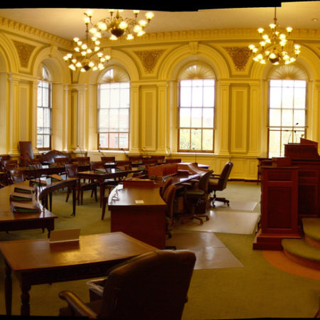 NH Senate chamber