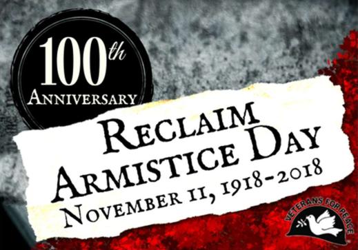 Nov. 11: Ring church bells for Armistice Day 100th anniversary